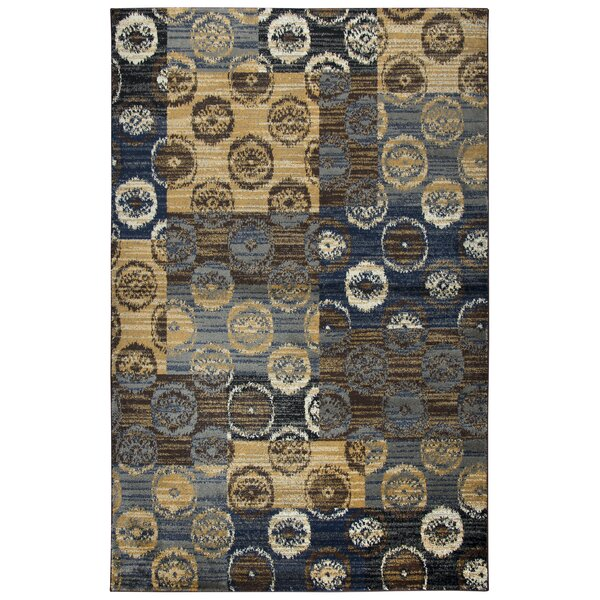 Phillip Beige/Brown Area Rug by Red Barrel Studio