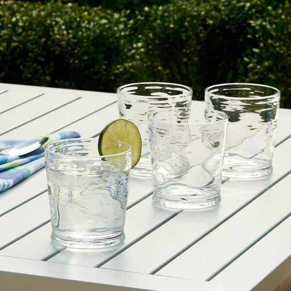 Cecilio Plastic Cocktail Glass (Set of 6) by Mint Pantry