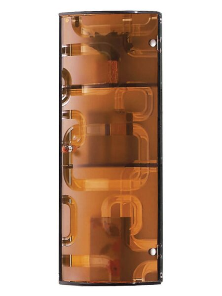 10 W x 28 H Wall Mounted Cabinet by Fab Glass and Mirror