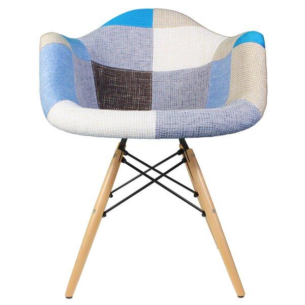 Vanguilder Patchwork Armchair by Ebern Designs Ebern Designs