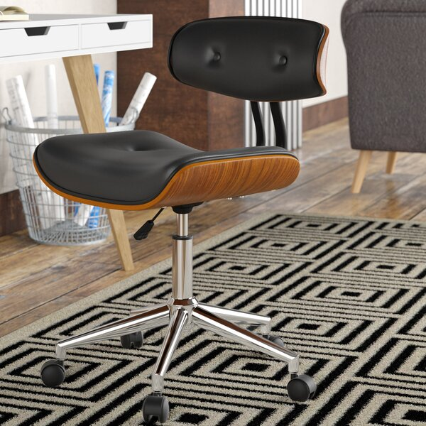 Bloomfield Adjustable Office Low-Back Drafting Chair by George Oliver
