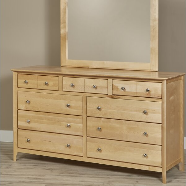 Dellbrook 9 Drawer Dresser by Alcott Hill