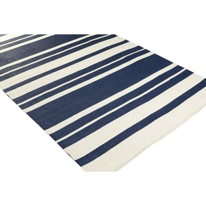 Walden Hand-Woven Blue Outdoor Area Rug