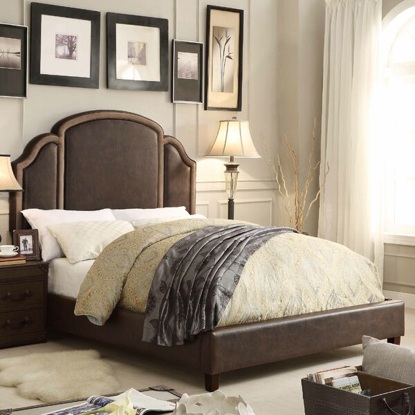 Ricca Queen Upholstered Standard Bed by Mulhouse Furniture