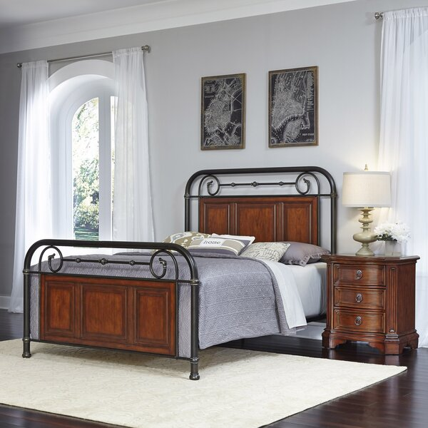 Colmesneil Platform 2 Piece Bedroom Set by Fleur De Lis Living