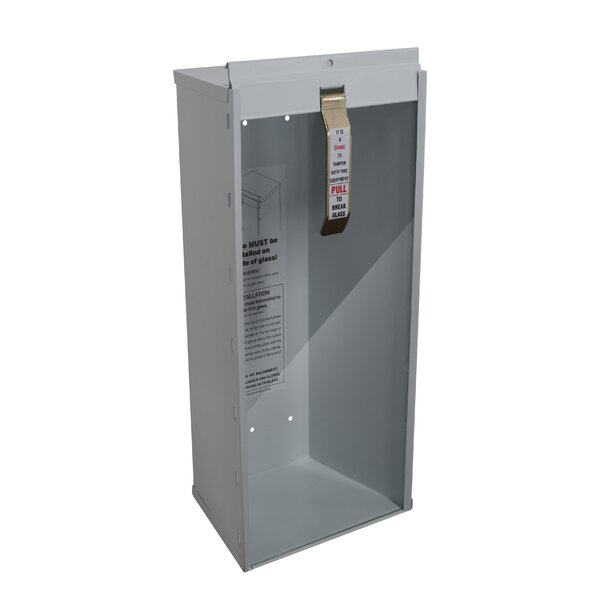 Industrial Grade Fire Extinguisher Cabinet By Buddy Products.