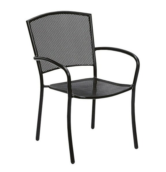 Albion Stacking Patio Dining Chair by Woodard