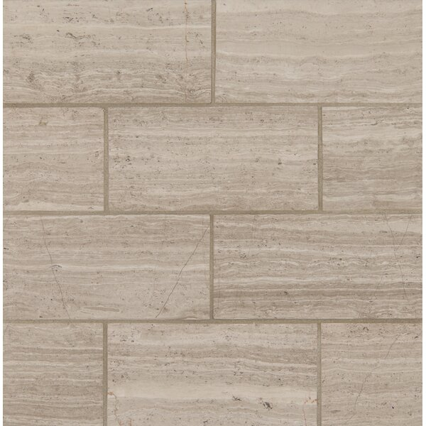 3 x 6 Marble Tile in White Oak by MSI