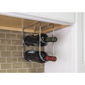 Under Cabinet 2 Bottle Wine Bottle Rack by Hardware Resources