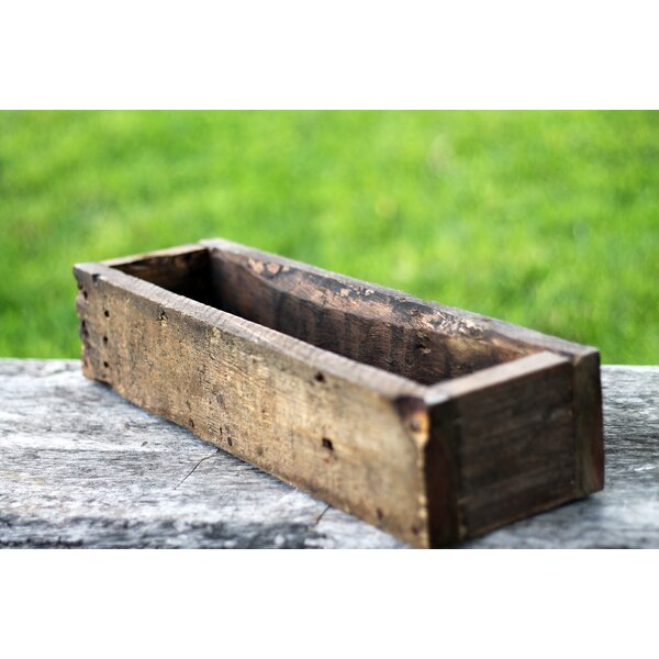 Donner Wood Planter Box by Loon Peak