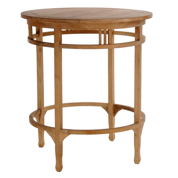 Bauman Teak Bar Table by Darby Home Co