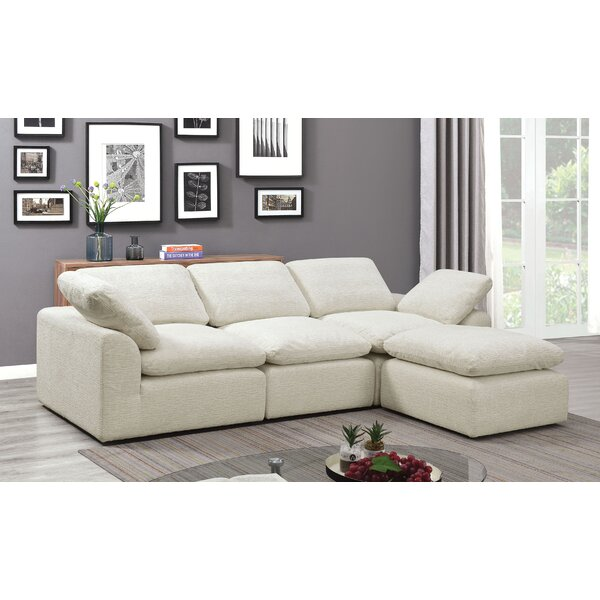 Billiter Right Hand Facing Modular Sectional By Wrought Studio