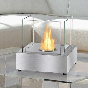 Cube Ventless Bio Ethanol Tabletop Fireplace