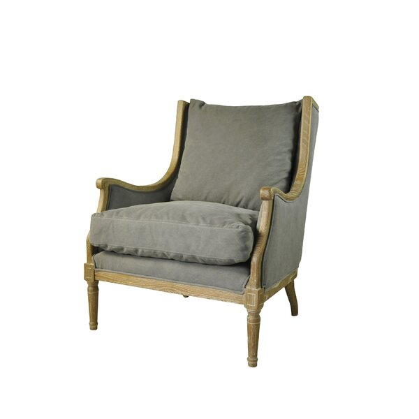 Escobar 24-inch Armchair by One Allium Way One Allium Way