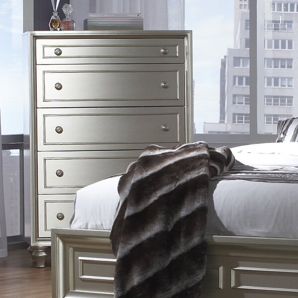 Anette 5 Drawer Chest by Willa Arlo Interiors