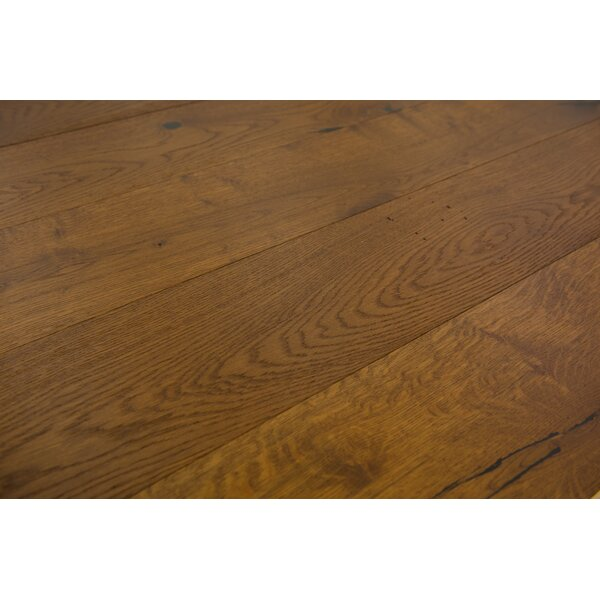 Santorini 7-1/2 Engineered Oak Hardwood Flooring in Toffee by Branton Flooring Collection