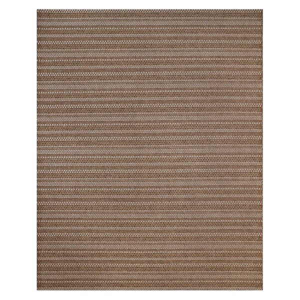 Jennings Chestnut Grain Indoor/Outdoor Area Rug by Studio by Brown Jordan