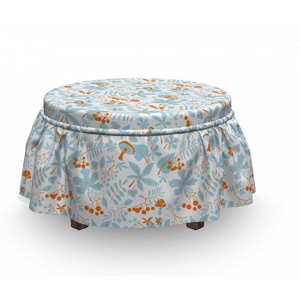 Box Cushion Ottoman Slipcover By East Urban Home