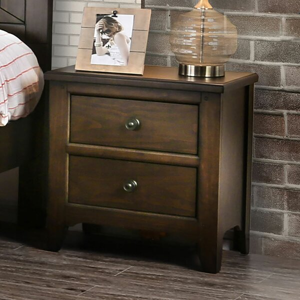 Varner 2 Drawer Nightstand by Gracie Oaks