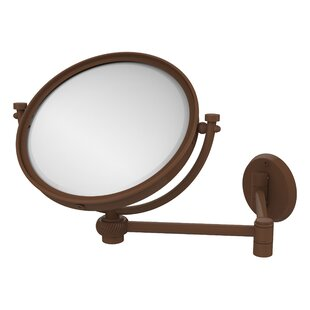 Compare prices Extend 4X Magnification Wall Mirror with Twist Detail ByAllied Brass
