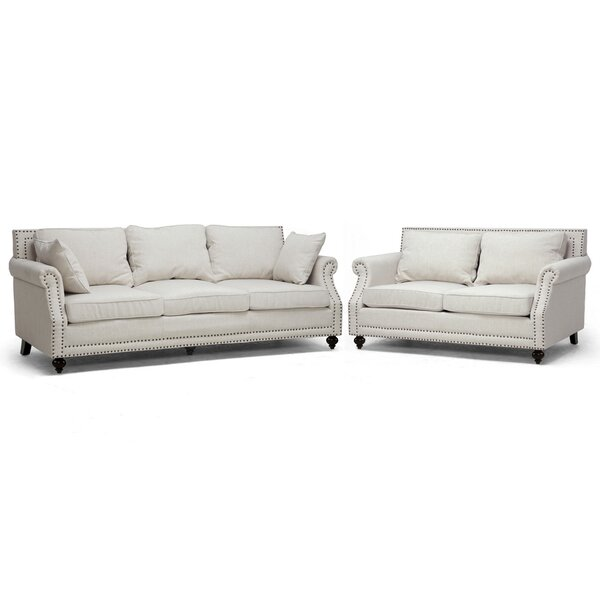 Colegrove 2 Piece Living Room Set by Alcott Hill
