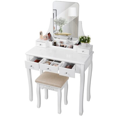 Drawers Included Makeup Vanities You Ll Love In 2020 Wayfair