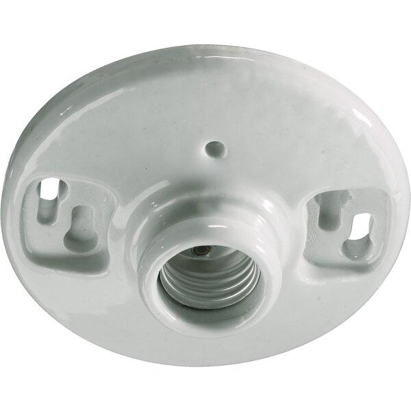 Keyless Porcelain Socket by Quorum