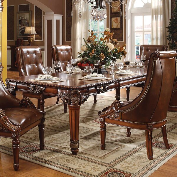 Wendel Extendable Dining Table by Astoria Grand Astoria Grand