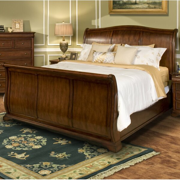Keven Sleigh Bed By Alcott Hill