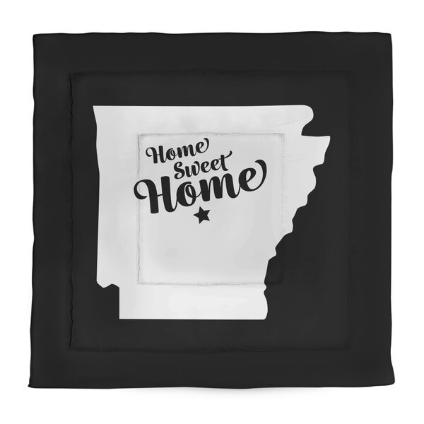 Little Rock Home Sweet Single Reversible Comforter