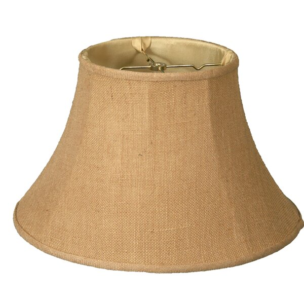 Timeless 13 Burlap Bell Lamp Shade by Royal Designs