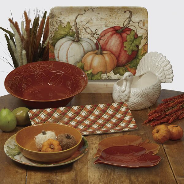 Layla Rectangular Platter by The Holiday Aisle
