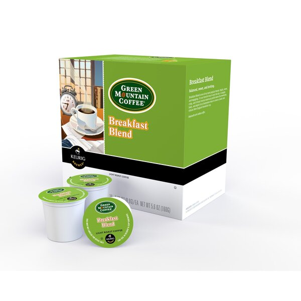 Green Mountain Breakfast Blend K-Cup (Pack of 72) by Keurig