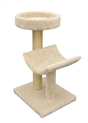 Bed and Cradle Sisal Scratching Post by Molly and