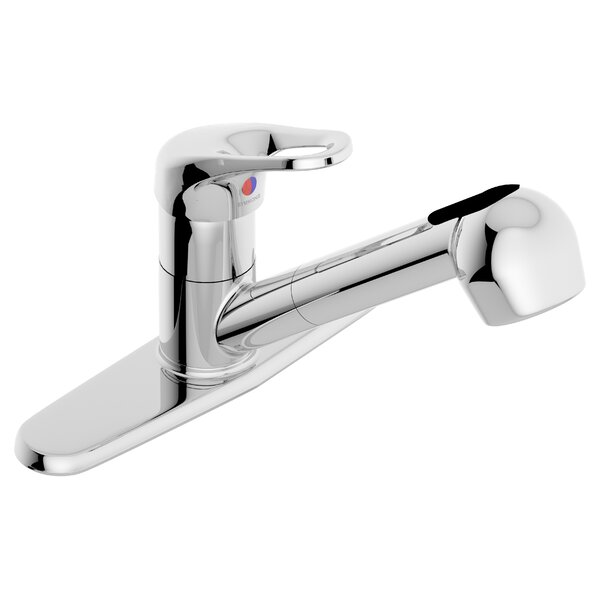 Unity Pull Out Single Handle Kitchen Faucet by Symmons