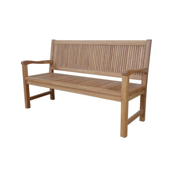 Chester Teak Garden Bench by Anderson Teak