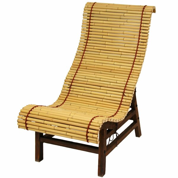 Diane Curved Patio Chair by World Menagerie