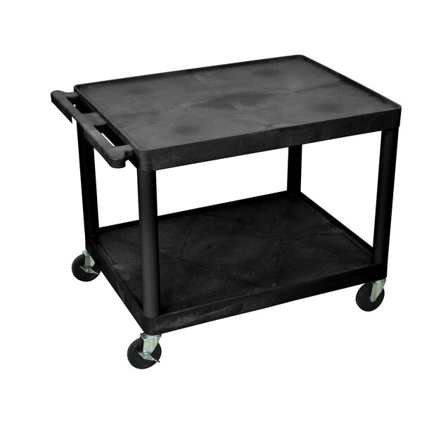 2 Shelf AV Cart by Offex