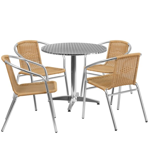 Eilers 5 Piece Bistro Set by Red Barrel Studio