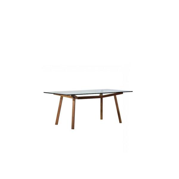 Amboy 29' Solid Wood Dining Table by Brayden Studio