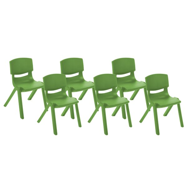 Resin Classroom Stacking Chair (Set of 6) by ECR4k