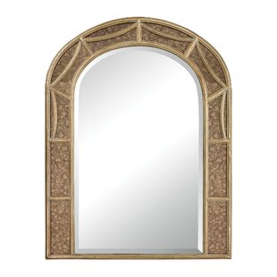 Fleur De Lis Living Barbosa Arch Accent Mirror