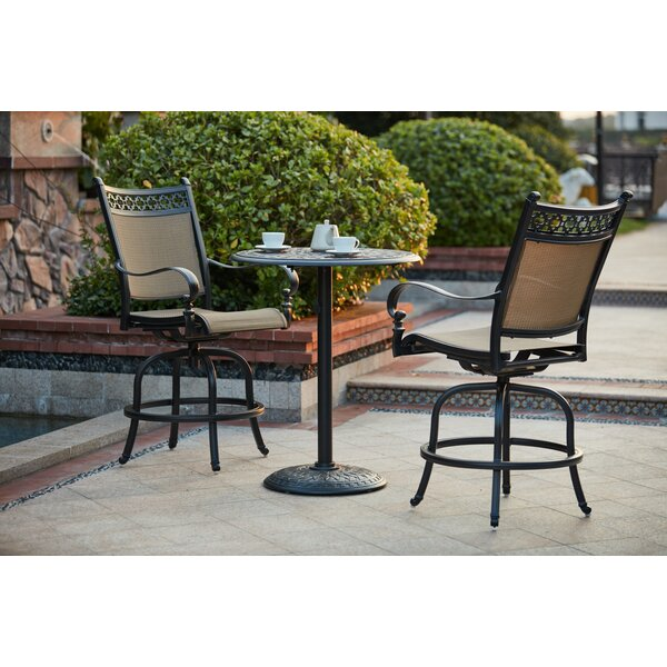 Wabon 3 Piece Bar Height Dining Set by Darby Home Co