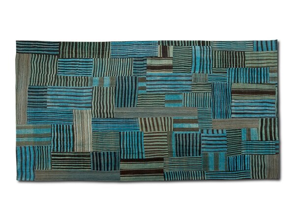 Doublesided Hand Woven Wool Area Rug by Sarreid Ltd