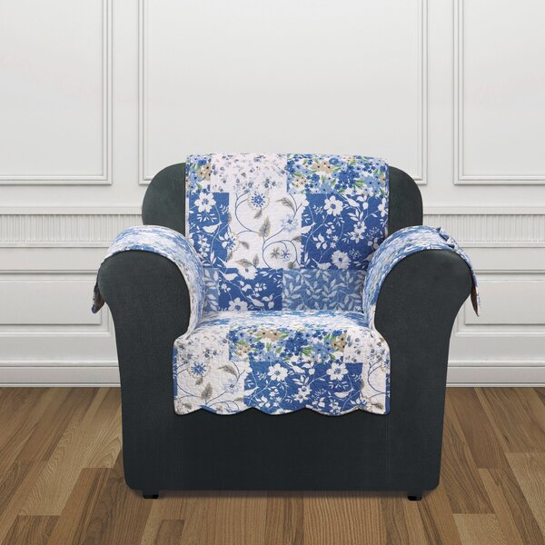 Heirloom Box Cushion Armchair Slipcover By Sure Fit