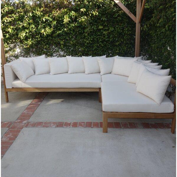 Jerrie Patio Sectional with Sunbrella Cushions by Corrigan Studio Corrigan Studio