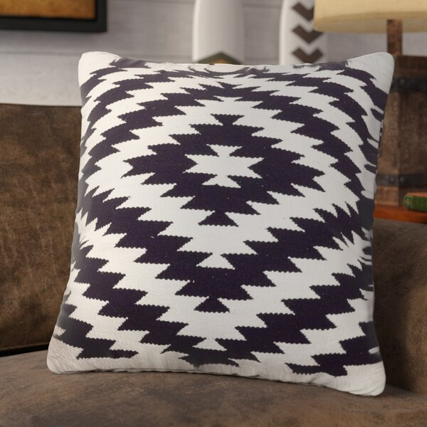 Conley Cotton Throw Pillow by Union Rustic