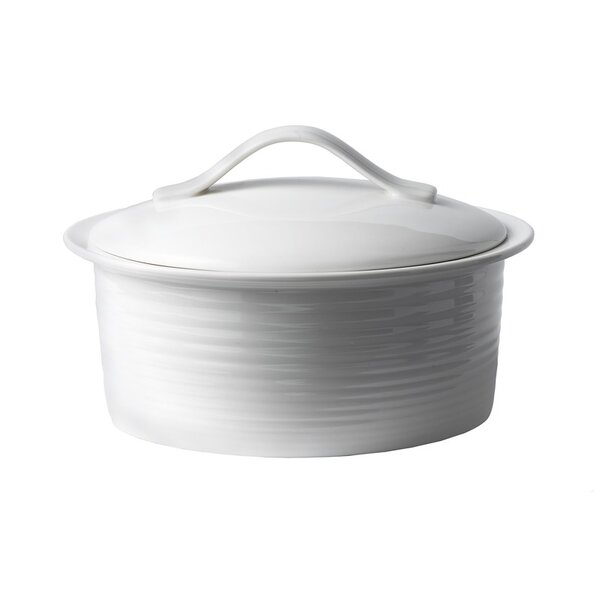 Gordon Ramsay Oven-to-Table Bakeware 2 Qt. Porcelain Round Casserole by Gordon Ramsay by Royal Doulton