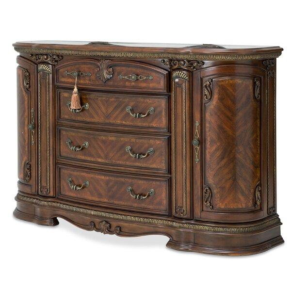 Bella Veneto 4 Drawer Combo Dresser by Michael Amini Michael Amini