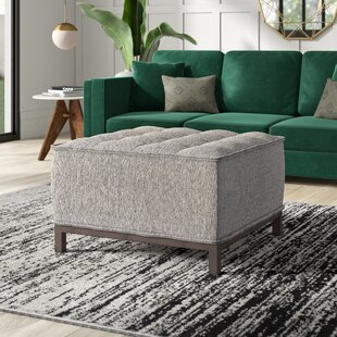 Mcspadden Tufted Ottoman by Mercury Row